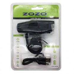ZOZO - Ön Far 4 Fonksiyonlu Usb Şarjlı Led - 7029