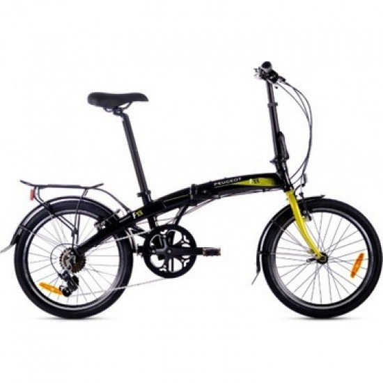 Peugeot F13 Karlanır Bisiklet Siyah Sarı 2021 Model