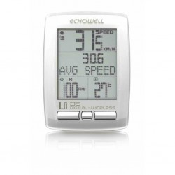 Echowell Km Saati Uİ25 27 Fonk BEYAZ Kablosuz/Cadance/Sıcaklık