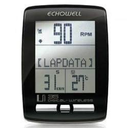 Echowell Km Saati Uİ30 29 Fonksiyon Kablosuz/Cadance/Sıcaklık Siy